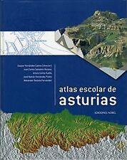 Atlas Escolar De Asturias (Libro)