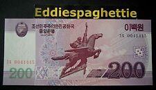 Korea North 200 Won 2008 UNC P-62