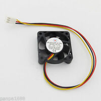 1pc Brushless DC Cooling Fan 40x40x10mm 40mm 4010 7 blades 12V 3pin Connector