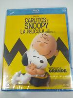 Carlitos Y Snoopy La Film Peanuts - Blu-Ray Spagnolo Inglese Francese nuevo