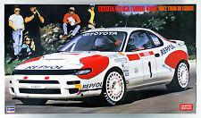 Hasegawa 20291 Toyota Celica Turbo 4WD 1992 Tour de Corse 1/24 scale kit