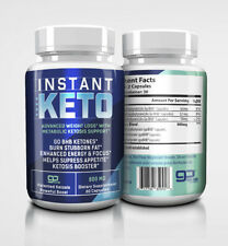 INSTANT KETO, WEIGHT LOSS CAPSULES, BURN STUBBORN FAT , KETOSIS BOOSTER