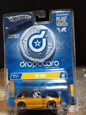 Hot Wheels DropStars Volkswagen VW Golf Black & Gold VHTF 1:50 Diecast Car