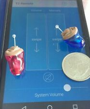 2x Starkey 3 Series 70  Hearing Aid Completley In  Canal CIC App Android iPhone