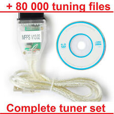 SMPS MPPS K+CAN + 80000 Chiptuning Files - chip tuning set OBDII OBD2 ECU remap