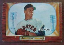 1955 Bowman Baseball #83 Max Surkont/PIRATES