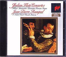 Jean-Pierre Rampal Italian Flute Concerto Alberti romano Cecere Sammartini CD