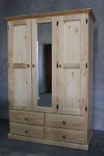 Brand New Solid Timber Wardrobe Bedroom Furniture Hanging Robe Dresser Chest
