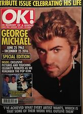 OK magazine #1065 January 10 2017 George Michael WHAM! TRIBUTE ISSUE NEW