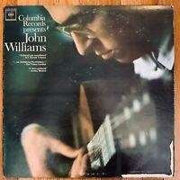 JOHN WILLIAMS  COLUMBIA RECORDS PRESENTS VINYL LP  ML 6008 VERY GOOD CONDITION