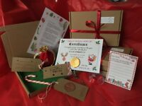 Santa Christmas Eve Box Personalised A5 Size Letter Magic Key Reindeer Food NICE