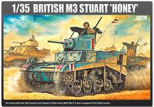 Academy 1/35 Plastic Model Kit BRITISH M3 STUART Honey 13270 Free Shipping