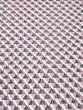 Jacquard Tela 0,5 m moderno 14,60€/rosa m Algodón, Producto Por Metros
