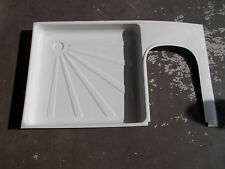 Coachman Caravan Motorhome or Boat White Plastic L/H  Shower Tray ST2