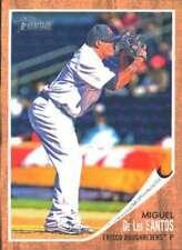 2011 Topps Heritage Minor League #99 Miguel De Los Santos (Prospect / Rookie Car