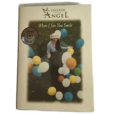 Touched by an Angel Greeting Card & CD Single Uncle Sam When I See You Smile NIP