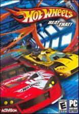 Hot Wheels Beat That! PC DVD race miniature mini cars backyard ramp racing game