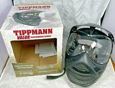 Tippman Valor Performance Anti- Fog Goggle, Black Never Used NEW