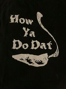 No Limit - How You Do Dat - XL Black Short Sleeve Promo T-Shirt 1997 - Master P