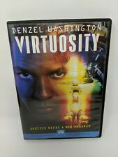Virtuosity Dvd 1995 Widescreen Denzel Washington Sci Fi Movie Russell Crowe