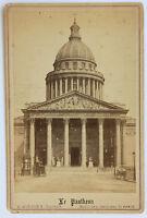 Il Pantheon E.Ziegler Carta Armadio Vintage Albumina 1880