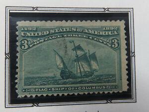 US Scott #232 Mint NH Stamp VF
