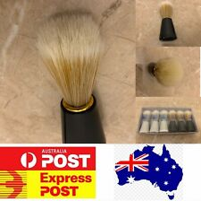 Top Quality men's shaving brush, soft badger hair brush Black Special AU stock