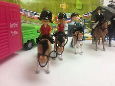NEW 38 PCS ACCESSORIES HORSE EQUESTRIAN RIDER SET JUMPING SHOW JOCKEY KIDS TOYS