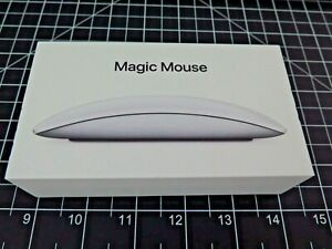 APPLE Magic Mouse 2 Wireless Bluetooth MLA02LL/A A1657 Silver Rechargeable