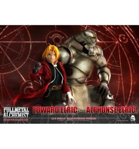 ThreeZero - Full Metal Alchemist : Brotherhood - Edward et Alphonse Elric - 1/6