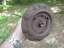 """Antique 1920's 1930's Art Deco Horn button bezel 42 1/4"""" shaft Essex Hudson"""