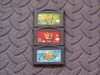 Lot Nintendo Game Boy Advance GBA Games Tak Power of JuJu, Great JuJu Challenge+