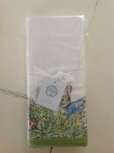 Pottery Barn Peter Rabbit Garden Table Throw  Tablecloth Beatrix Potter