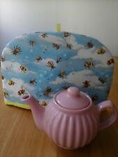 Tea cosy, two cup tea cosy, tea cosies, handmade, bee, bees