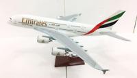 Emirates - Airbus 380 Jet Model Souvenir Reward Statue, 1:135 Detailed Diecast