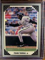 Frank Thomas Baseball Card #281 Leaf Chicago White Sox NM-MT MLB HOF Free Ship