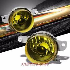 Amber Lens Chrome Housing Bumper Fog Light/Lamp For Honda 93-95 Civic del Sol