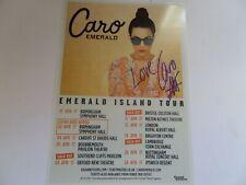 More details for caro emerald autographed tour flyer