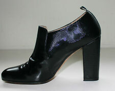 Paco Gil Black  Leather Ankle Boots, Shoes-  Size 7 UK 40 EU