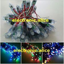 WS2811 RGB Full Color 12mm Pixels digital Addressable LED String DC5V 50PCS 1set