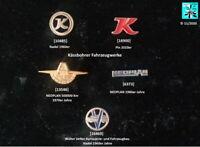 Kässbohrer, NEOPLAN, Vetter Bus Abzeichen Anstecknadeln Pin AUSSUCHEN