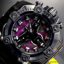 Invicta Grand Octane Coalition Forces Purple Black Steel 63mm Swiss Watch New