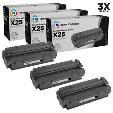 LD Remanufactured Canon X25 / 8489A001AA Set of 3 Black Toner Cartridges