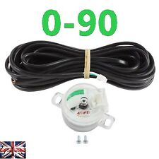 LPG-CNG-GPL GAS Fuel level sensor gauge Tank multivalve sensor 1090 0-90 ohm
