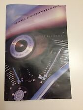 1999 Harley Davidson Motorcycle Sales Catalogue Brochure Uncommon Small Size