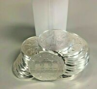 100 Silver Austria Philharmonic 1 Troy Oz .999 Coins in 5 Mint Rolls of 20