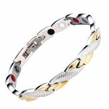 Therapy Magnets Bracelets Bangles Usa Unisex Twisted Healthy Magnetic Bracelet