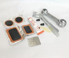 9 Pcs Bicycle Bike Flat Tire Repair Kit Cycling Patch Rubber Glue Set Fix Tool