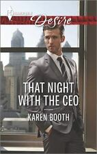 That Night with the CEO by Karen Booth