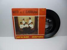 NICO E I GABBIANI ORA SAI - PAROLE CITY REC C 6189 OTTIMO